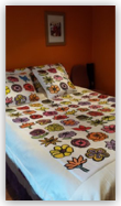 <hr><h3>King Size Quilt Set [includes two pillow cases and two cushion covers]</h3>